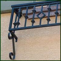 Stockton, Ornamental Iron